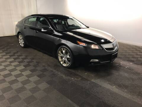 2012 Acura TL for sale at MELILLO MOTORS INC in North Haven CT