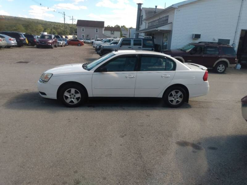 2005 Chevrolet Malibu for sale at ROUTE 119 AUTO SALES & SVC in Homer City PA