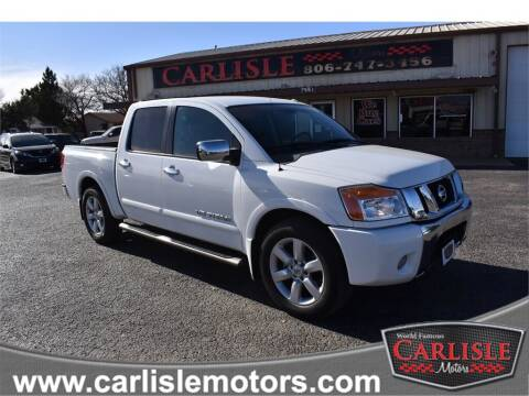 2009 Nissan Titan for sale at Carlisle Motors in Lubbock TX