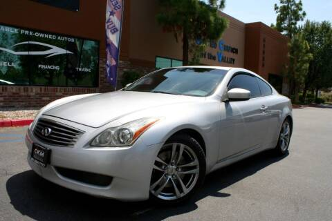 2008 Infiniti G37 for sale at CK Motors in Murrieta CA