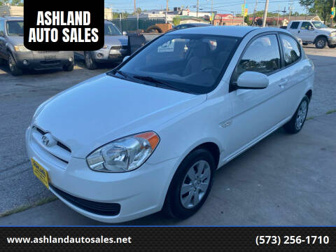 2010 Hyundai Accent for sale at ASHLAND AUTO SALES in Columbia MO