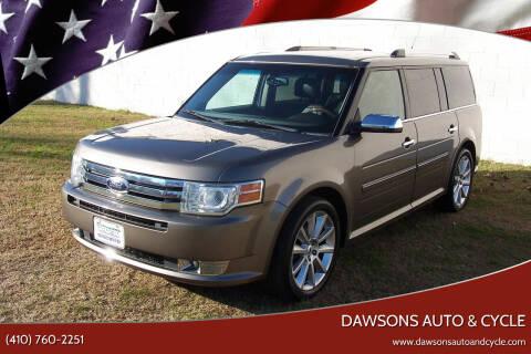 2012 Ford Flex for sale at Dawsons Auto & Cycle in Glen Burnie MD
