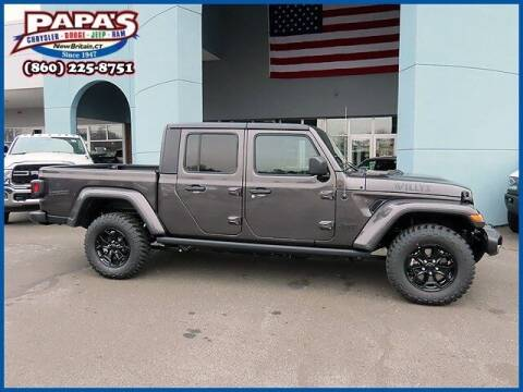 2021 Jeep Gladiator for sale at Papas Chrysler Dodge Jeep Ram in New Britain CT