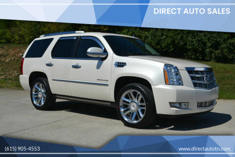 2012 Cadillac Escalade for sale at Direct Auto Sales in Franklin TN