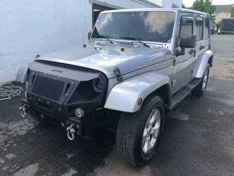 2013 Jeep Wrangler Unlimited for sale at Jay's Automotive in Westfield NJ
