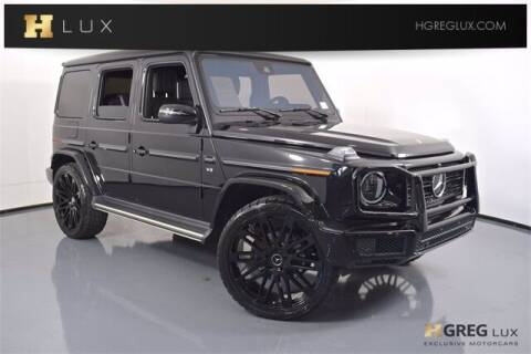 2019 Mercedes-Benz G-Class for sale at HGREG LUX EXCLUSIVE MOTORCARS in Pompano Beach FL