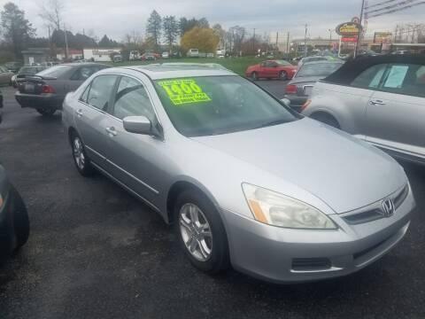 2006 Honda Accord for sale at Credit Connection Auto Sales Inc. CARLISLE in Carlisle PA