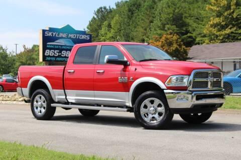 2016 RAM Ram Pickup 2500 for sale at Skyline Motors in Louisville TN