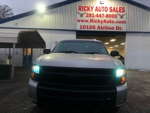 2007 Chevrolet Silverado 1500 for sale at Ricky Auto Sales in Houston TX