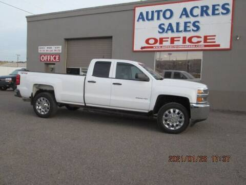 2015 Chevrolet Silverado 2500HD for sale at Auto Acres in Billings MT
