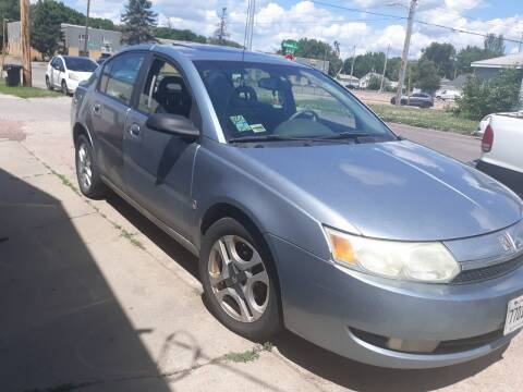 2003 Saturn Ion for sale at ZITTERICH AUTO SALE'S in Sioux Falls SD