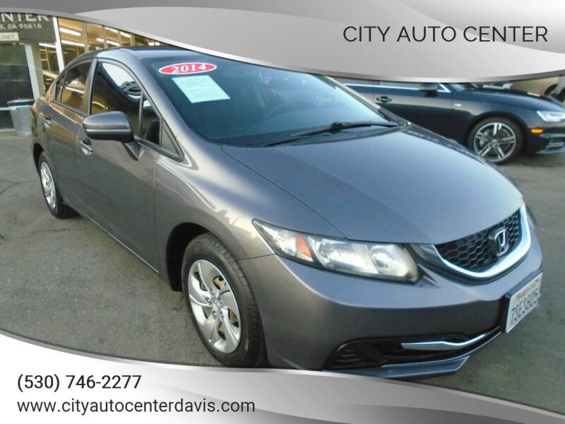 2014 Honda Civic for sale at City Auto Center in Davis CA