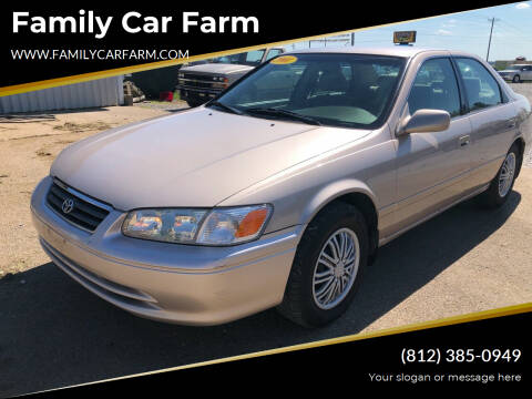 2001 Toyota Camry for sale at Family Car Farm in Princeton IN