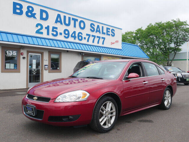 2014 Chevrolet Impala Limited for sale at B & D Auto Sales Inc. in Fairless Hills PA