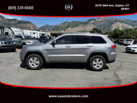 2016 Jeep Grand Cherokee for sale at S S Auto Brokers in Ogden UT