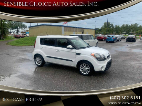 2013 Kia Soul for sale at Sensible Choice Auto Sales, Inc. in Longwood FL