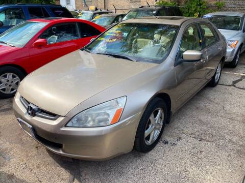 2003 Honda Accord for sale at 5 Stars Auto Service and Sales in Chicago IL