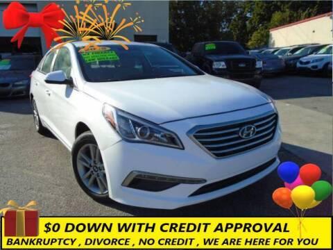 2015 Hyundai Sonata for sale at Chase Auto Credit in Oklahoma City OK