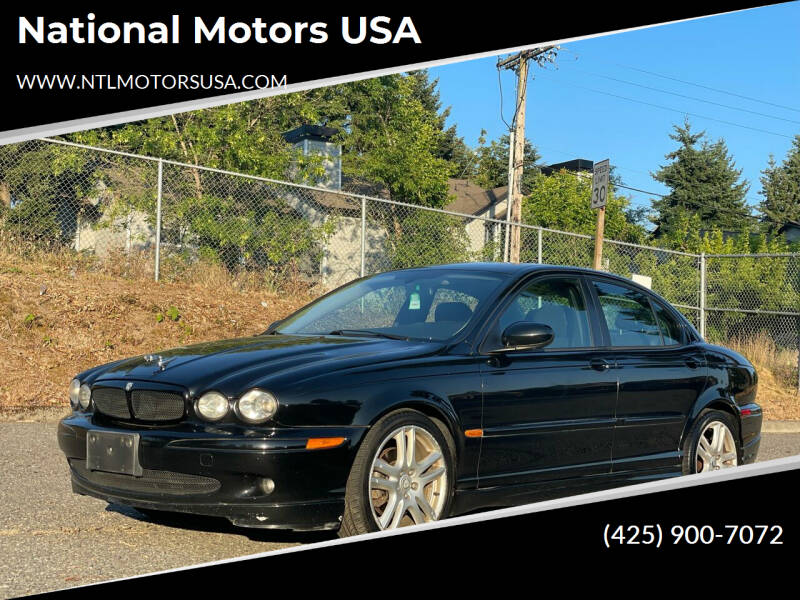 2005 Jaguar X-Type for sale at National Motors USA in Federal Way WA