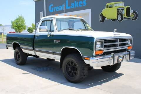 1989 Dodge RAM 250 for sale at Great Lakes Classic Cars & Detail Shop in Hilton NY
