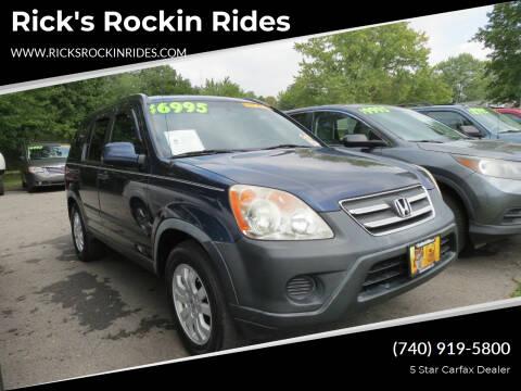 2006 Honda CR-V for sale at Rick's Rockin Rides in Reynoldsburg OH