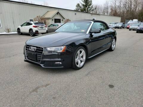 2016 Audi A5 for sale at Pelham Auto Group in Pelham NH