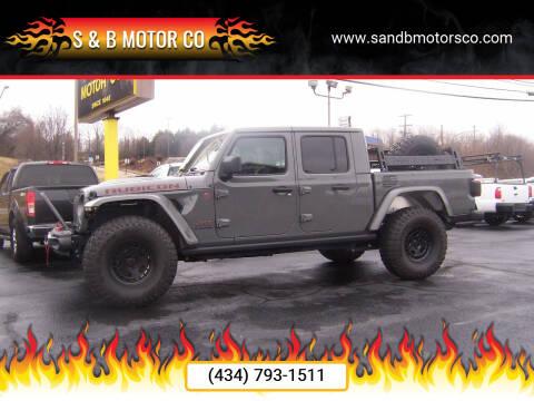 2020 Jeep Gladiator for sale at S & B MOTOR CO in Danville VA