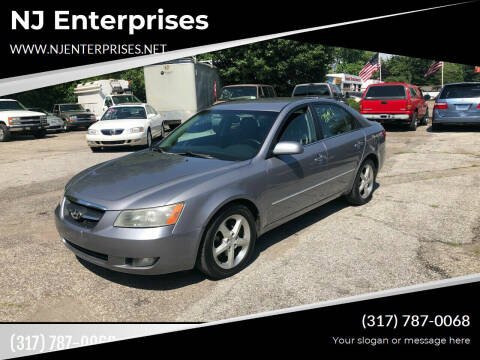 2008 Hyundai Sonata for sale at NJ Enterprises in Indianapolis IN
