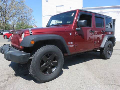 2007 Jeep Wrangler Unlimited for sale at US Auto in Pennsauken NJ