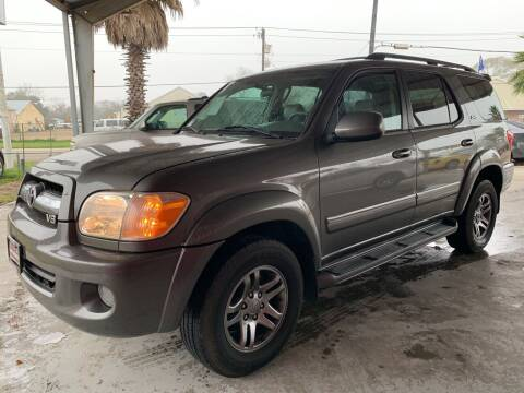 2005 Toyota Sequoia for sale at M & M Motors in Angleton TX