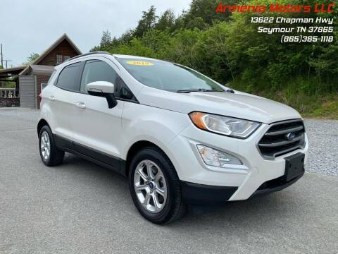 2019 Ford EcoSport for sale at Armenia Motors in Seymour TN