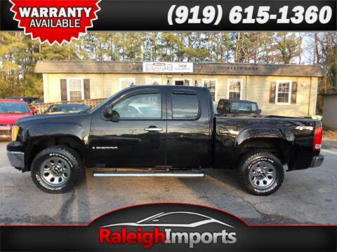 2009 GMC Sierra 1500 for sale at Raleigh Imports in Raleigh NC