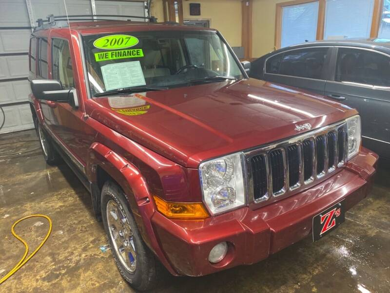2007 Jeep Commander for sale at Zs Auto Sales in Kenosha WI