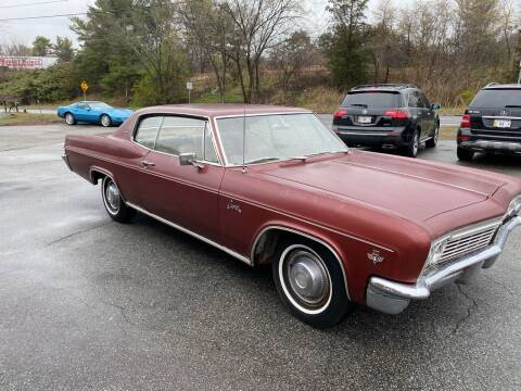 1966 Chevrolet Caprice for sale at Clair Classics in Westford MA
