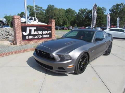 2014 Ford Mustang for sale at J T Auto Group in Sanford NC