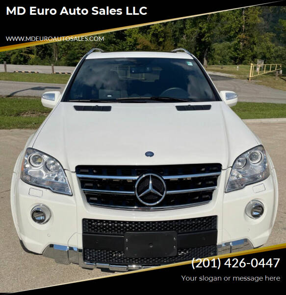 2010 Mercedes-Benz M-Class for sale at MD Euro Auto Sales LLC in Hasbrouck Heights NJ