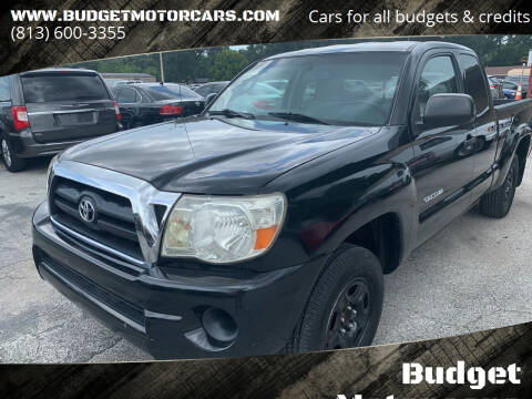 2006 Toyota Tacoma for sale at Budget Motorcars in Tampa FL