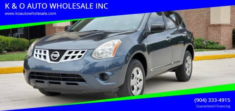 2013 Nissan Rogue for sale at K & O AUTO WHOLESALE INC in Jacksonville FL
