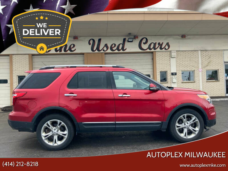 2012 Ford Explorer for sale at Autoplex 2 in Milwaukee WI