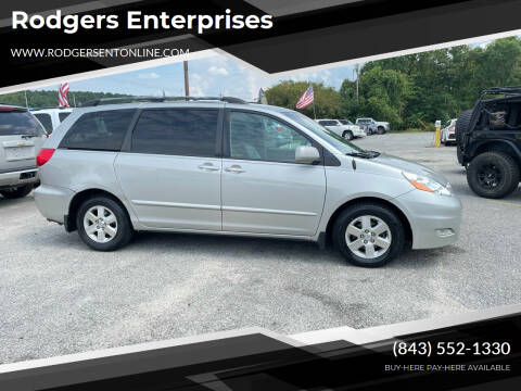 2009 Toyota Sienna for sale at Rodgers Enterprises in North Charleston SC