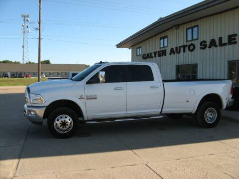 2015 RAM Ram Pickup 3500 for sale at Galyen Auto Sales Inc. in Atkinson NE