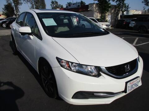 2015 Honda Civic for sale at F & A Car Sales Inc in Ontario CA