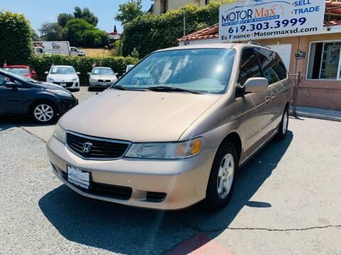 2001 Honda Odyssey for sale at MotorMax in Lemon Grove CA