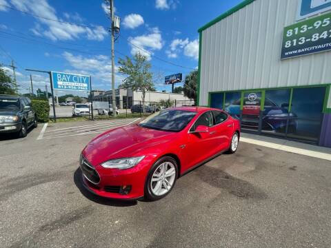 2015 Tesla Model S for sale at Bay City Autosales in Tampa FL