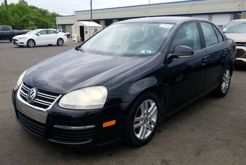 2007 Volkswagen Jetta for sale at Angelo's Auto Sales in Lowellville OH