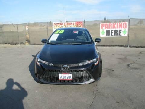 2020 Toyota Corolla for sale at Quick Auto Sales in Modesto CA