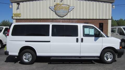 2017 Chevrolet Express Passenger for sale at Vans Of Great Bridge in Chesapeake VA