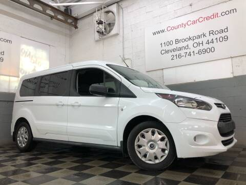 2015 Ford Transit Connect Wagon for sale at County Car Credit in Cleveland OH