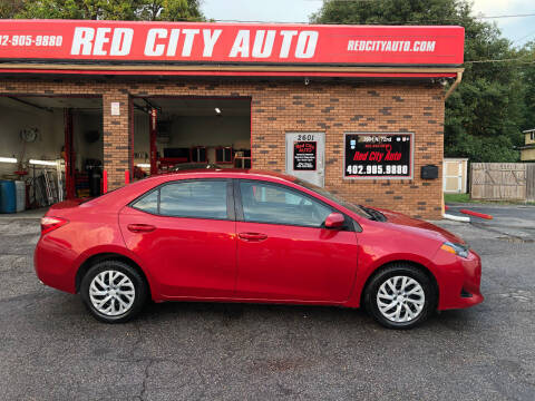 2018 Toyota Corolla for sale at Red City  Auto in Omaha NE