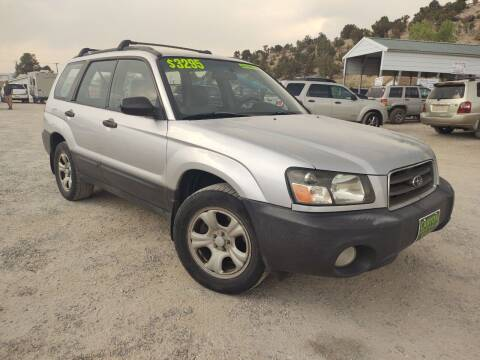 2003 Subaru Forester for sale at Canyon View Auto Sales in Cedar City UT